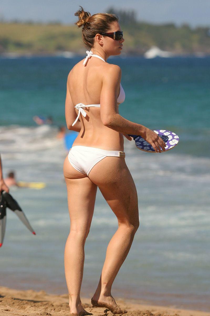 Jessica biel white bikini