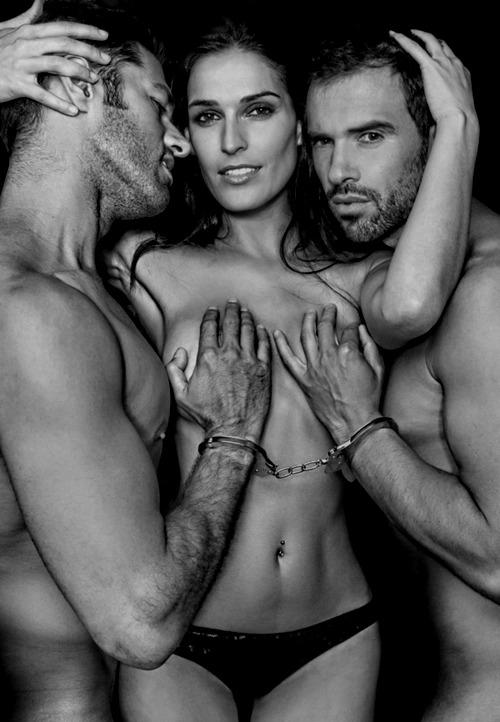 Erotic group sex