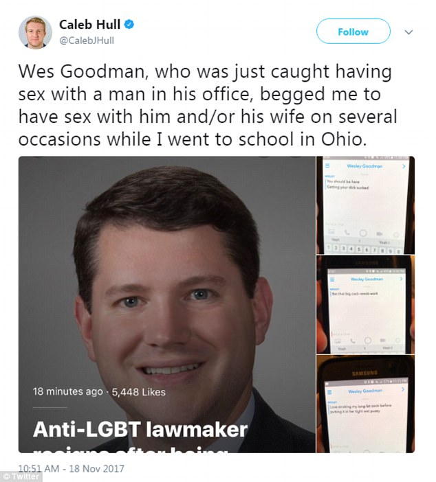 Mature gay man in office uniform