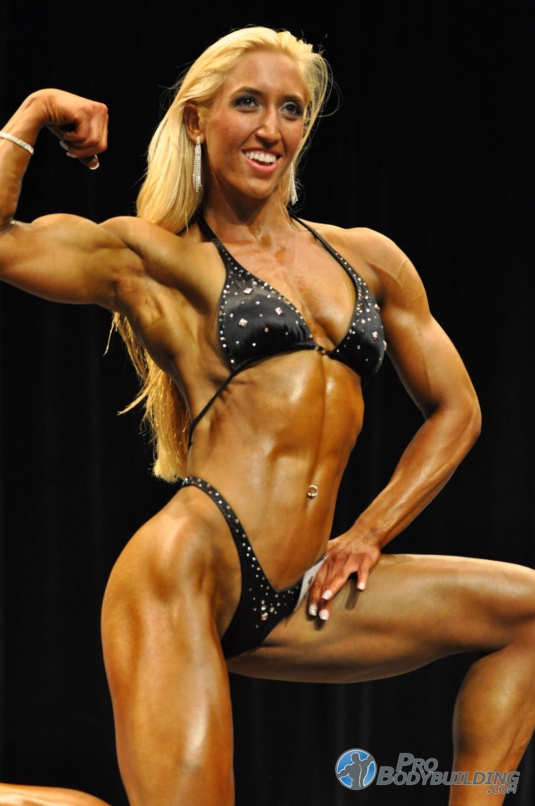 Woman female bodybuilder