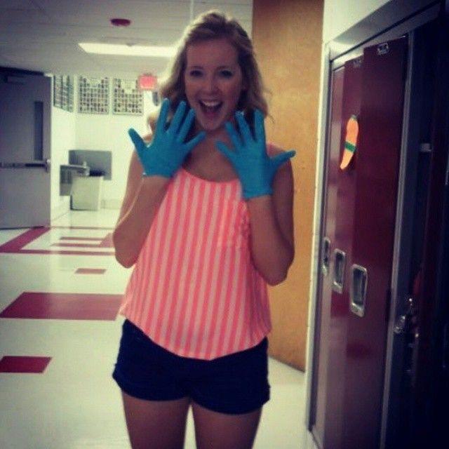 Latex gloves nurse fetish