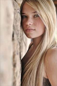 freckled girl Hot blonde