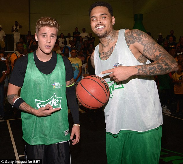 Justin bieber and chris brown gay
