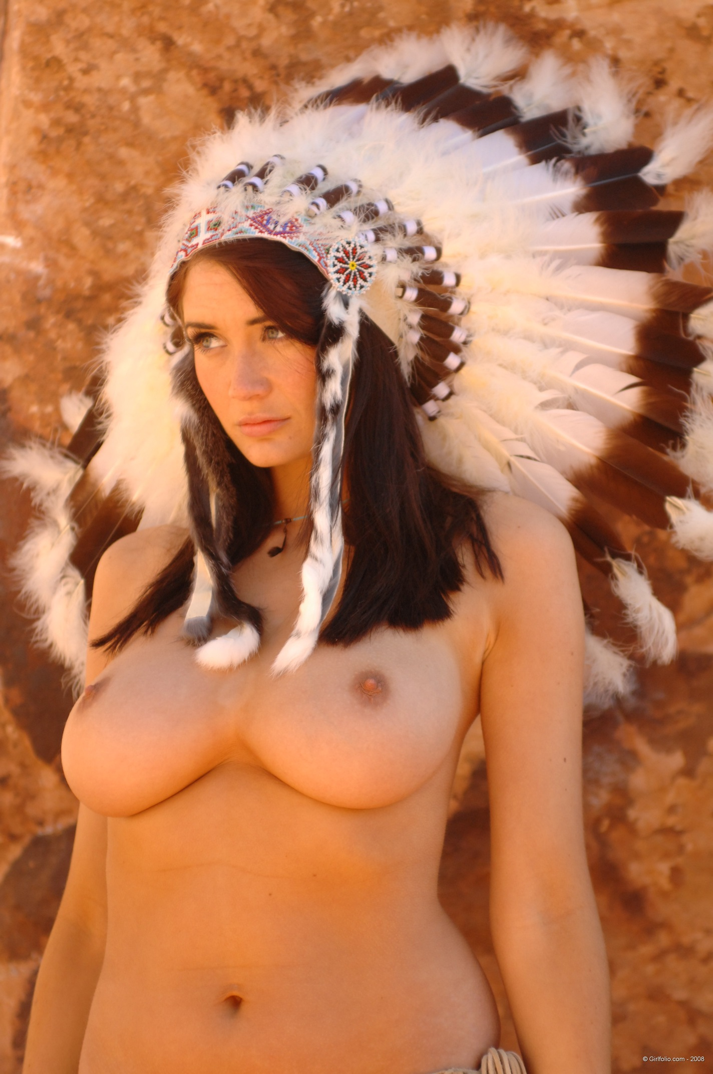 Girl nude cute native