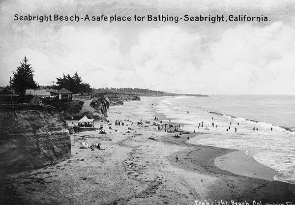 Sea bright beach santa cruz ca