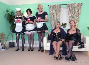 English mansion sissies