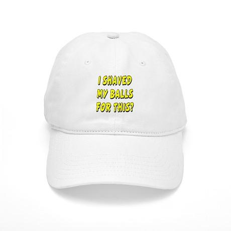Naked gay baseball cap