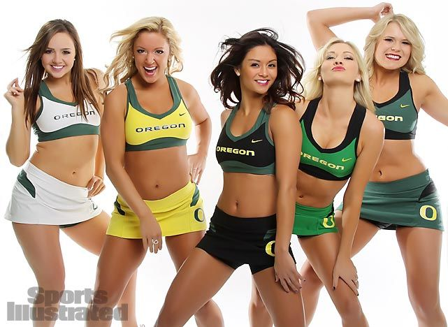 Oregon ducks cheerleader porn