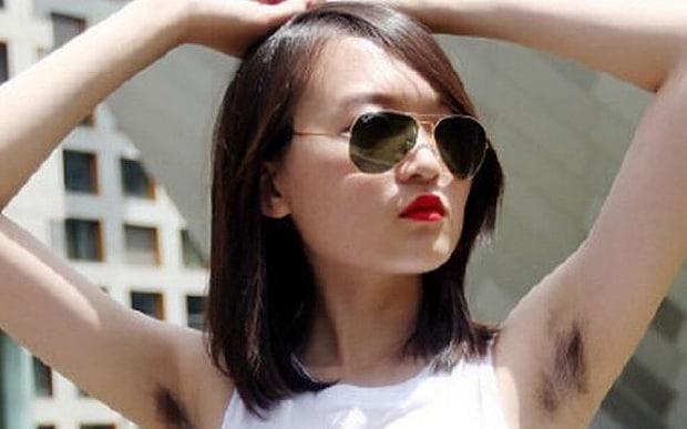 Hairy vietnamese women