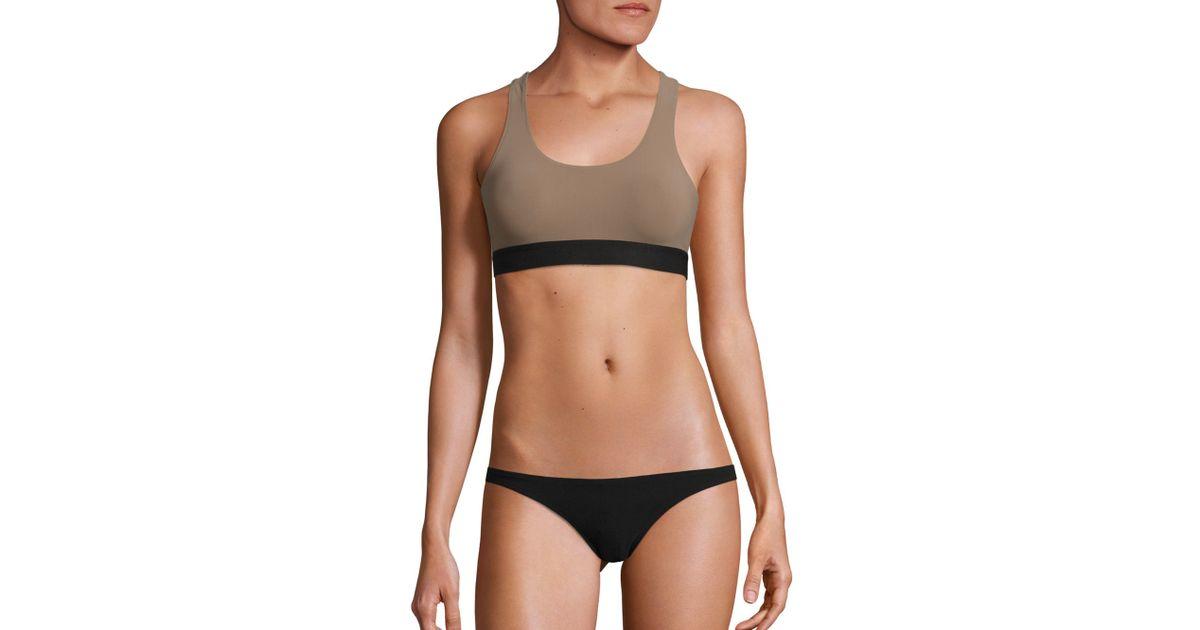 Sara stone black bikini