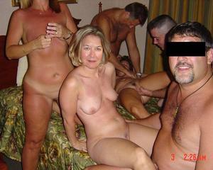 Mature swinger orgy
