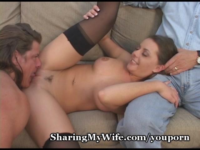 Sharing my wife cum