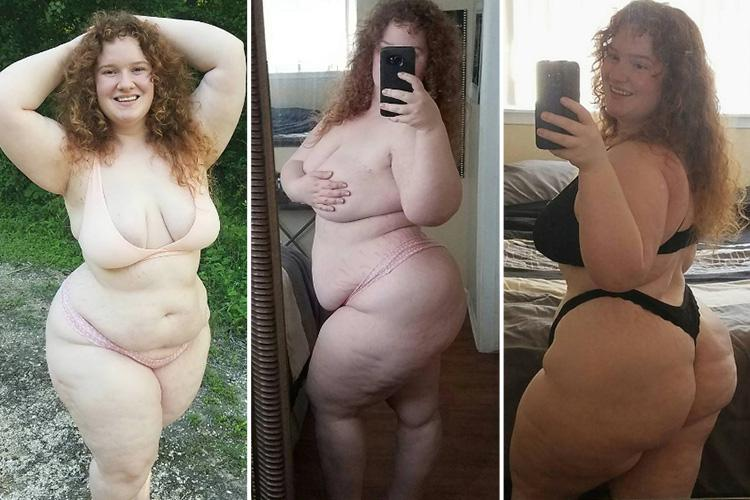 Plus size women naked