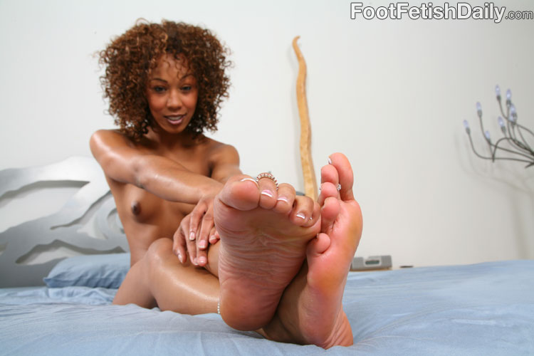 Teen missy stone feet that