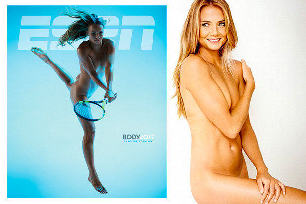 tennis players nude Beautiful