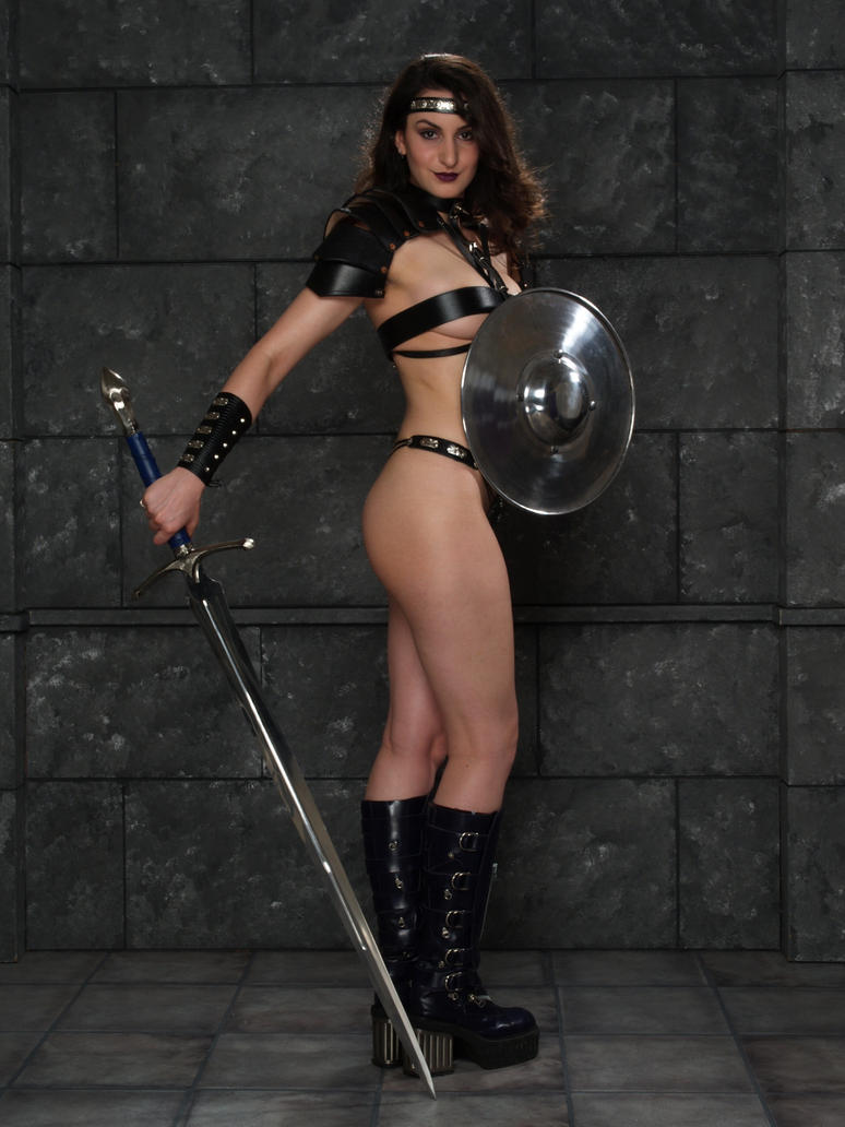 porn warrior Spartan female
