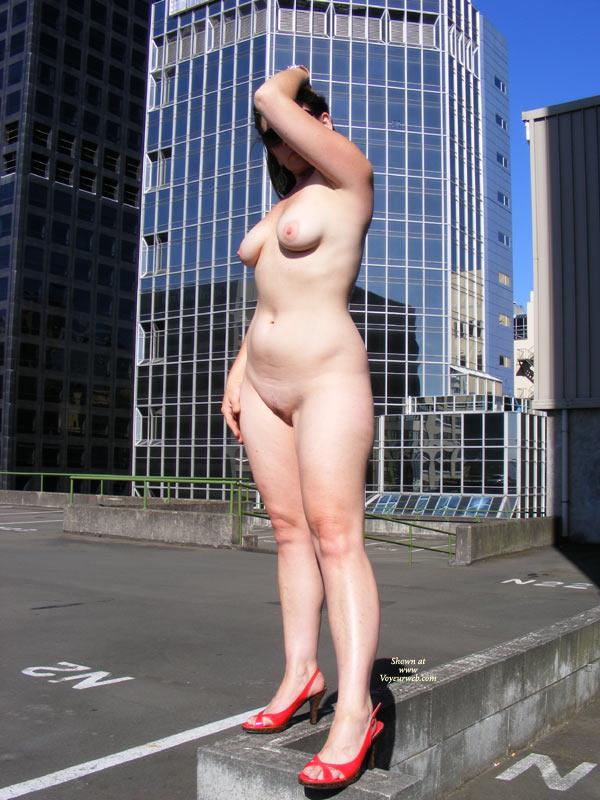 Amateur milf public nude