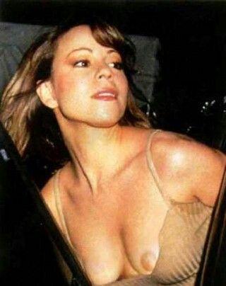 Mariah carey pussy slip