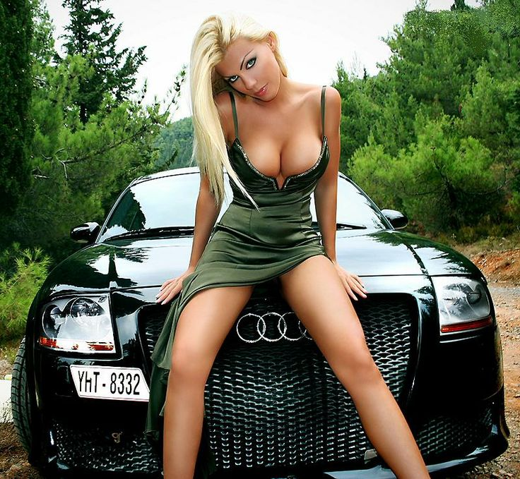 Ferrari cars and nude girls