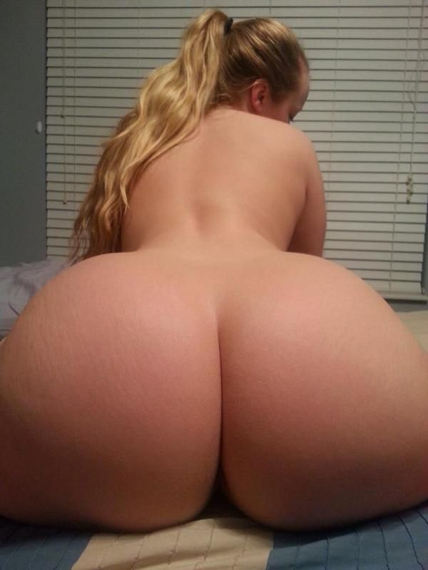Big white ass nude