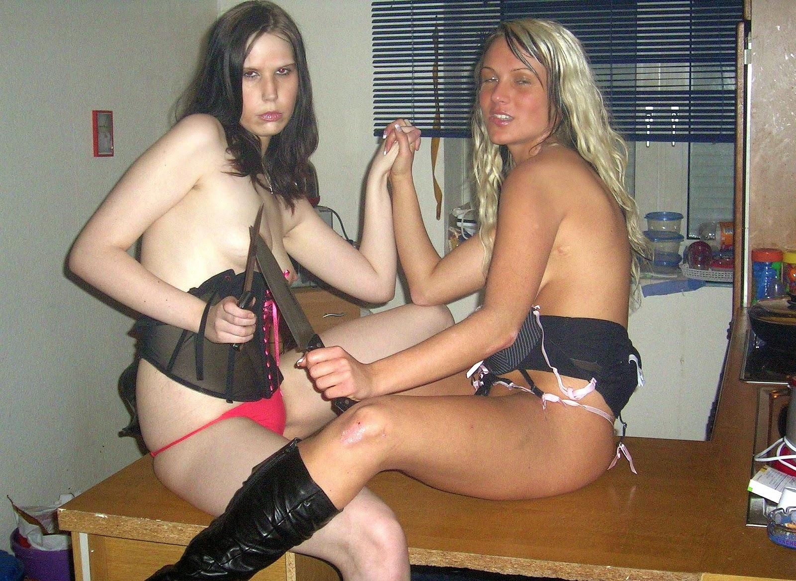 Nasty slut anal pussy lesbians
