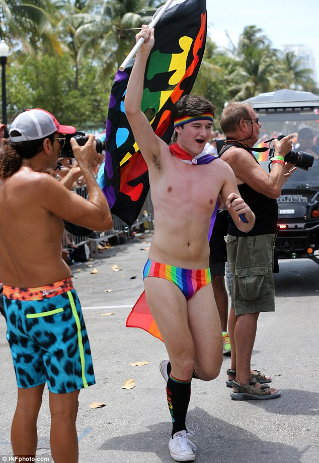 Nude gay boy pride