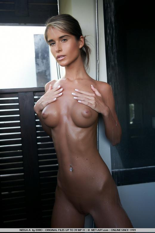 Skinny nessa devil nude