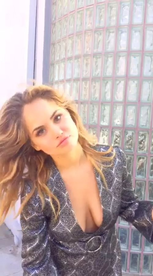 Cleavage debby ryan boobs