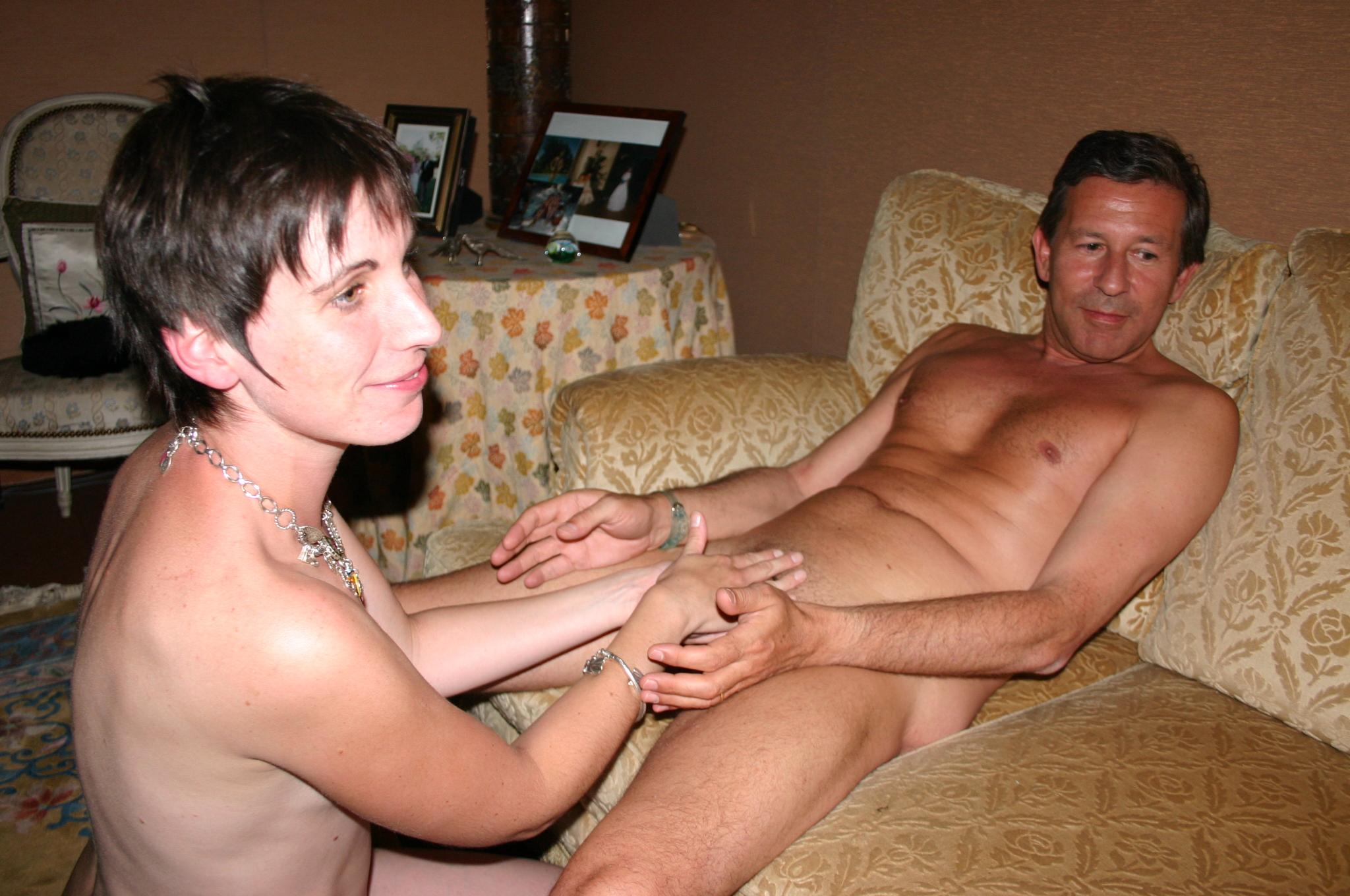 Amateur homemade orgy