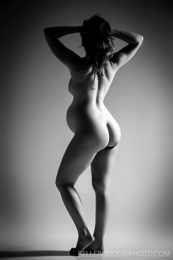 Boudoir pregnant nude