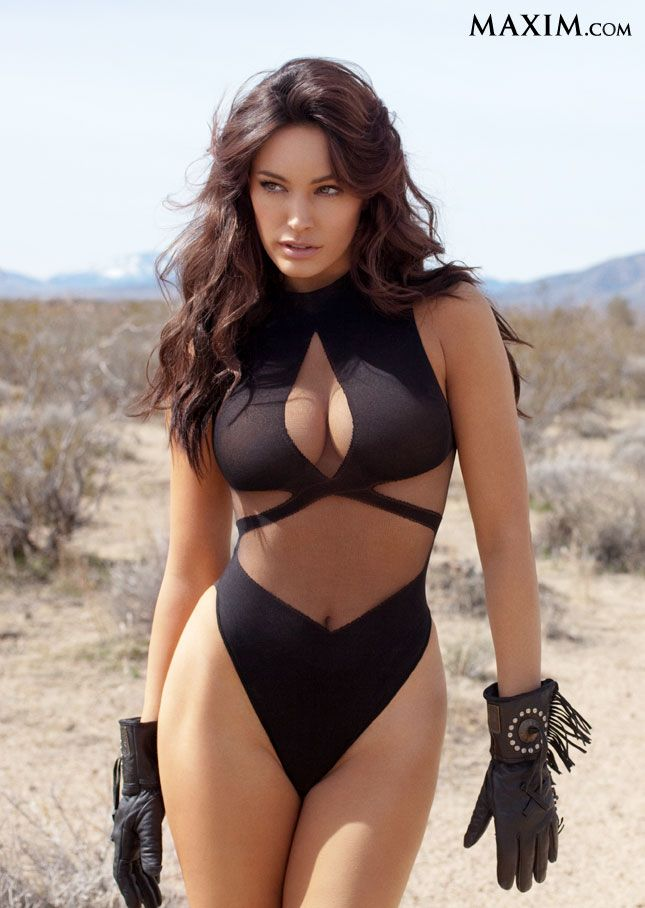 Kelly brook black swimsuit