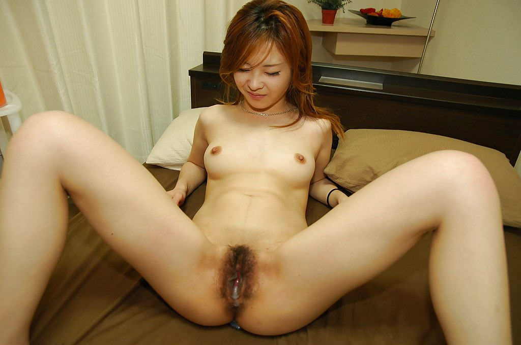 Hairy asian pussy knees up images