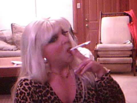 Shemale smoking fetish