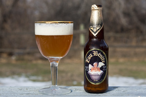 Unibroue eau benite beer
