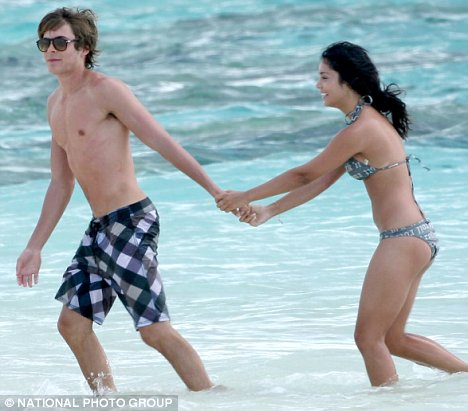 Zac efron and vanessa hudgens nude