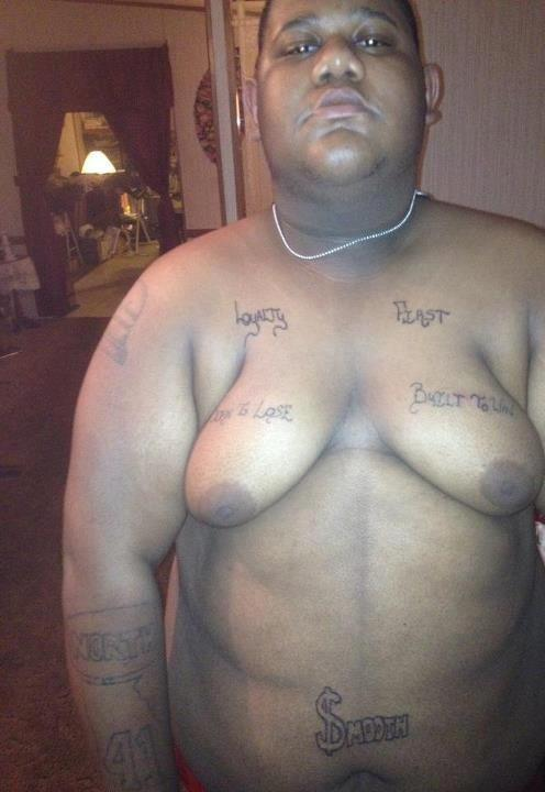 man boobs Fat with