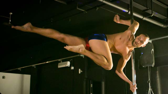 Gay pole dancing