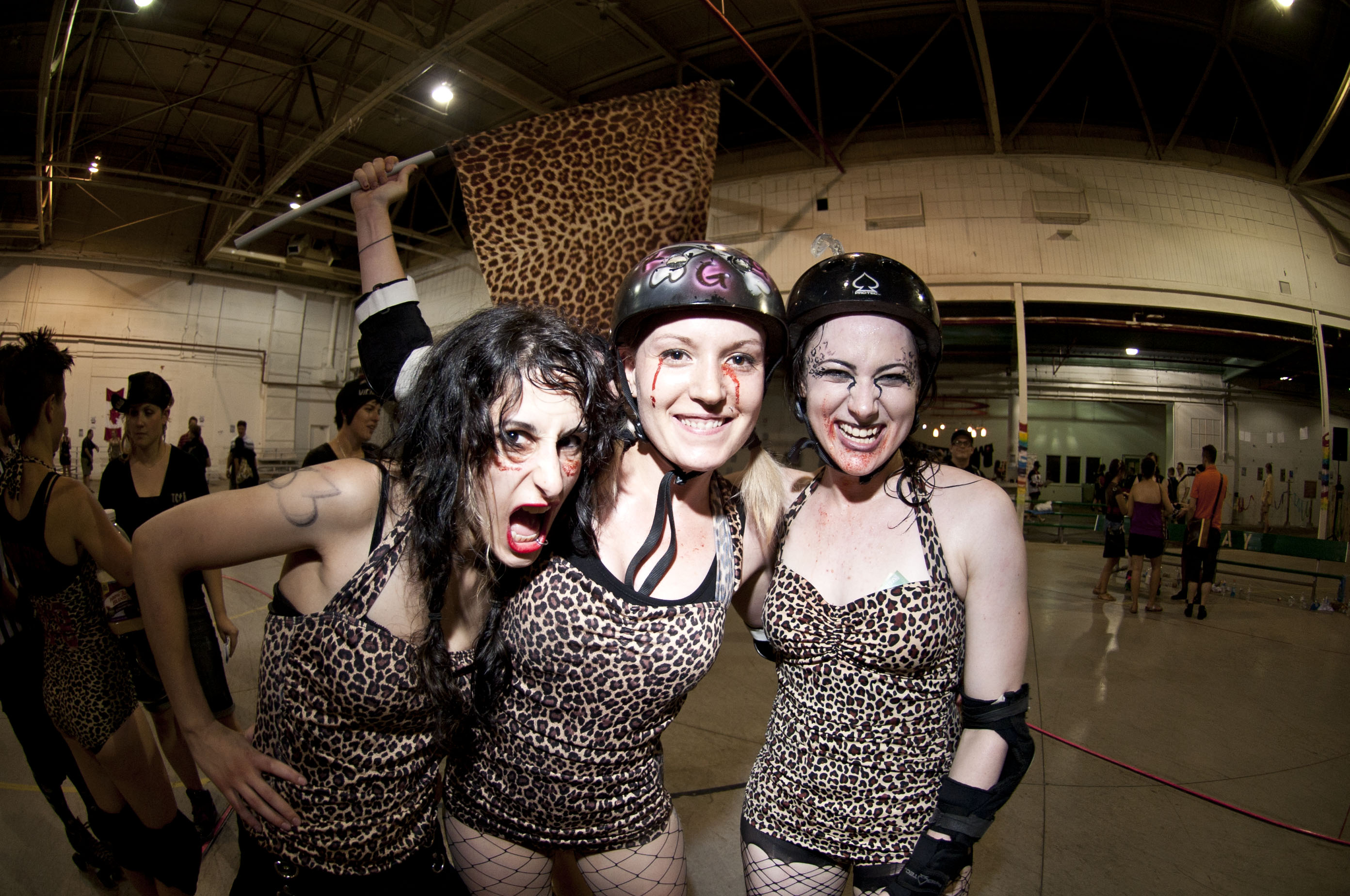 Hot roller derby girls nude