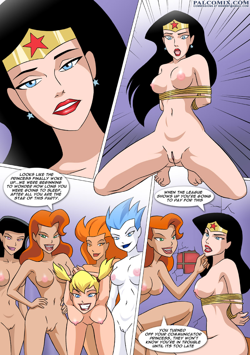 Wonder woman lesbian porn comics