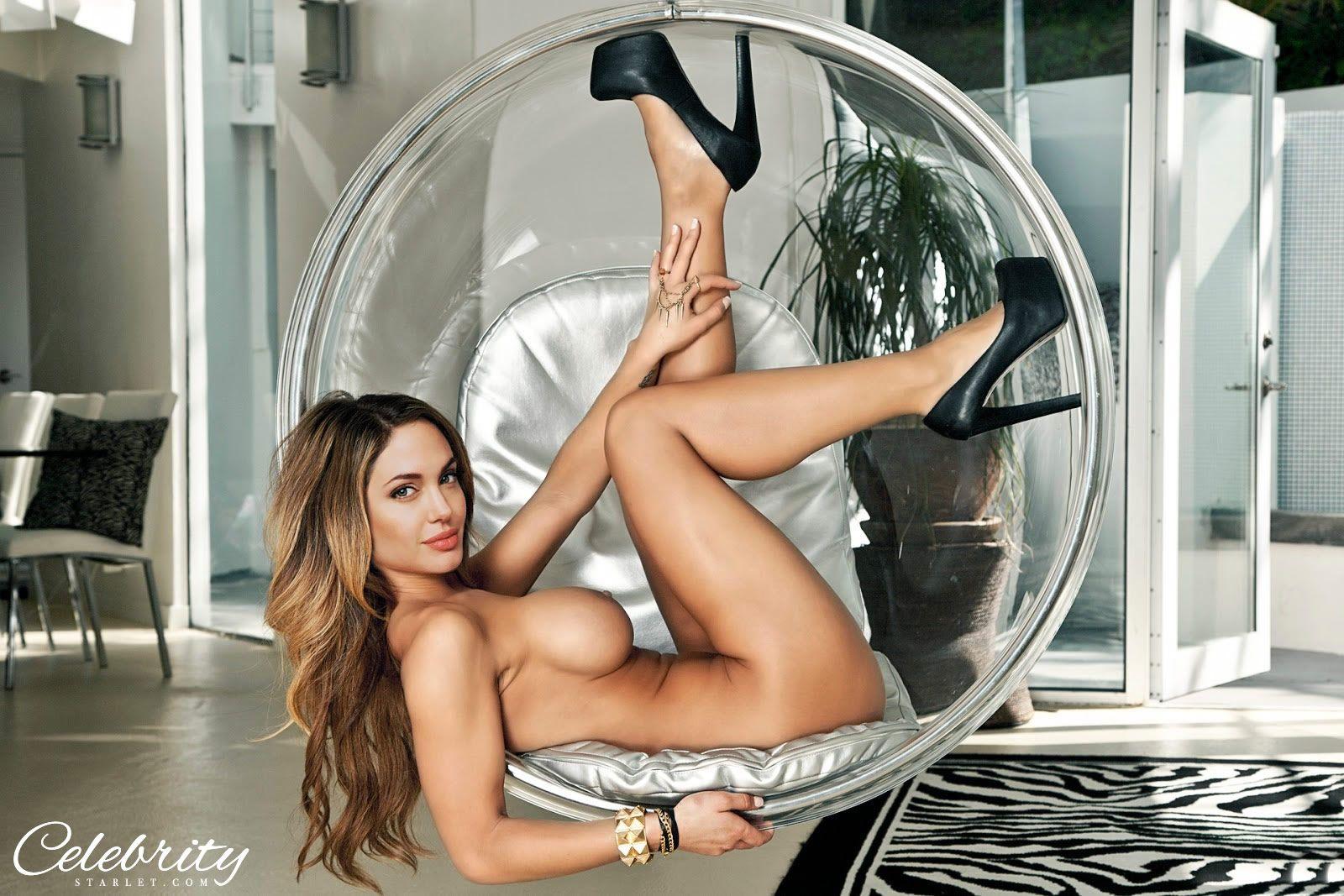 Angelina jolie fake porn