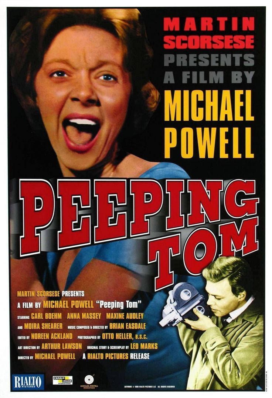 Lesbian peeping tom