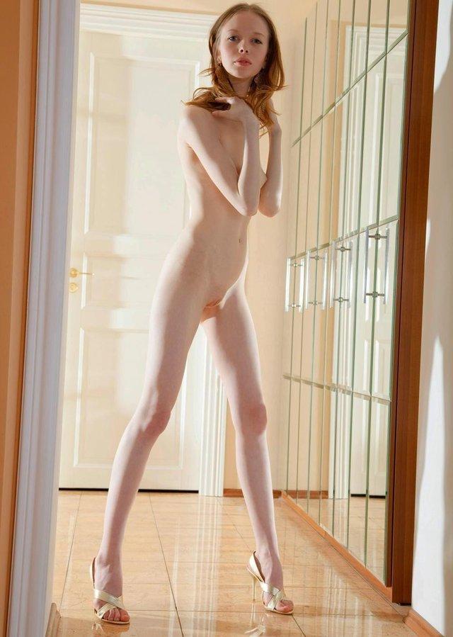 Tiny skinny girls nude