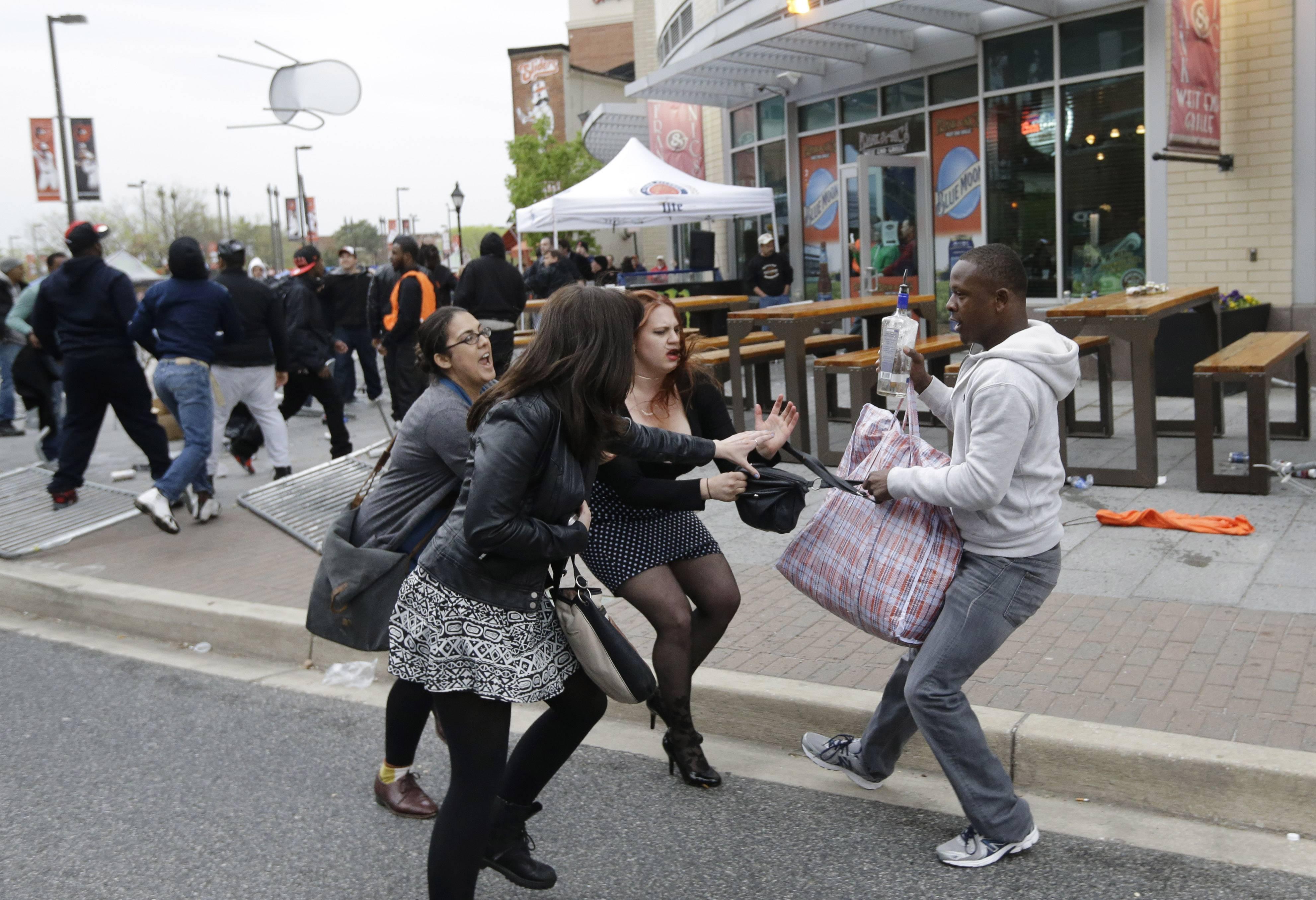 Young black girls baltimore