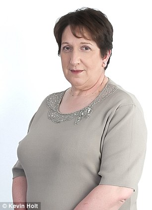 Older heavy set woman