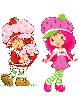 Strawberry shortcake girl nude