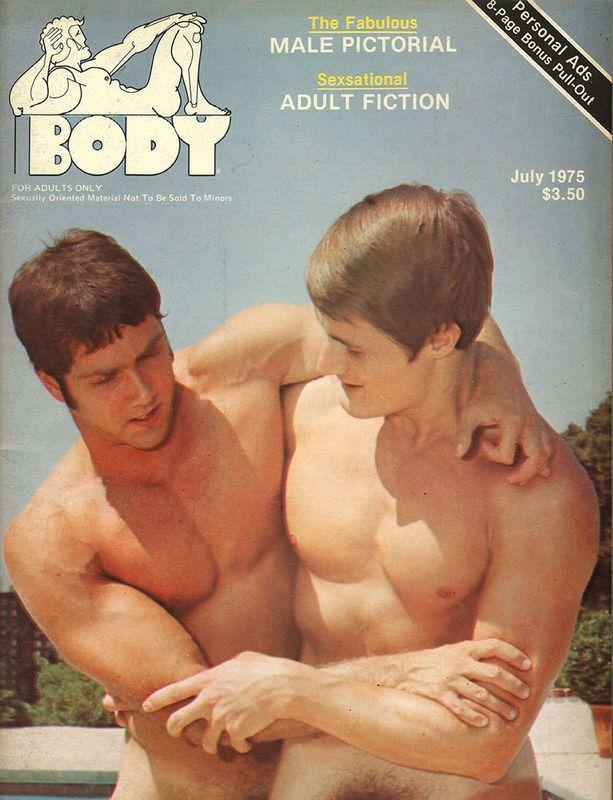 Vintage gay porn homo action magazine