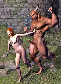 Beast fucks beauty cartoon porn