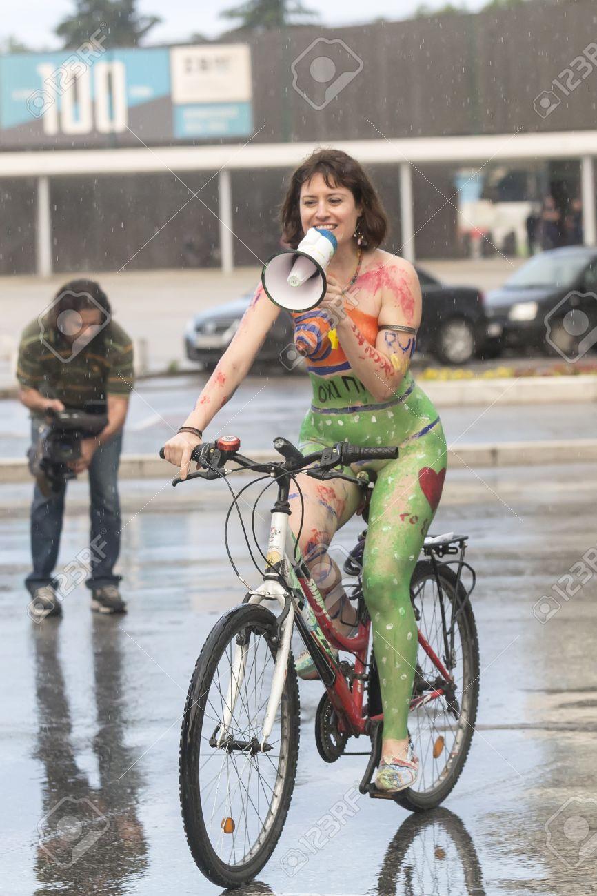bike ride Naked