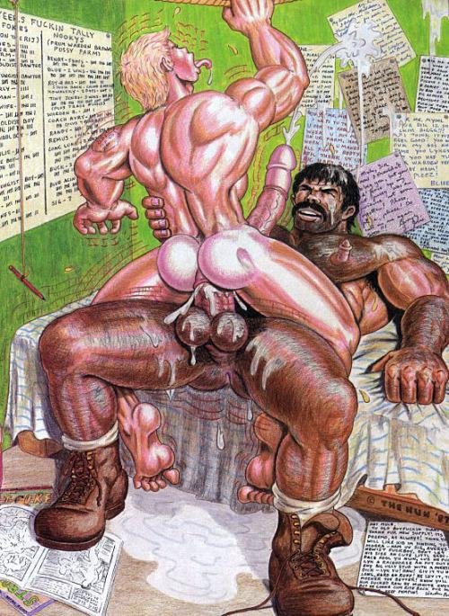 Prison gay cartoon porn comics