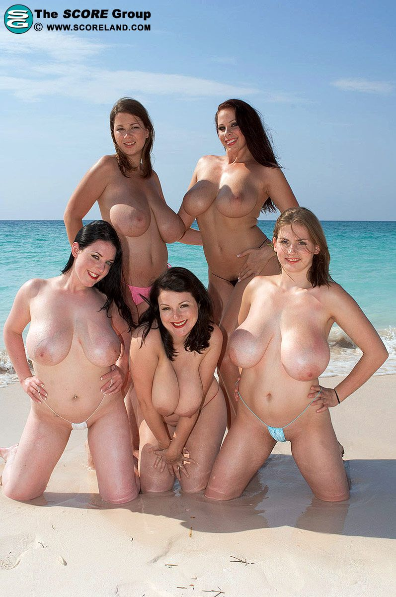 Gianna michaels big tits beach
